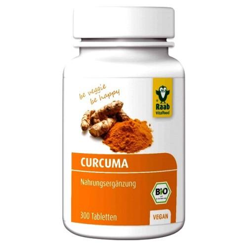 CURCUMA 300 Tabletten à 300 mg, Bio